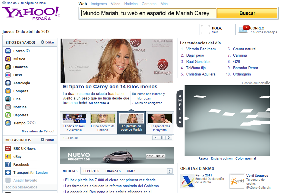 yahoo video espana: