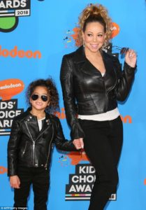 Mariah & Monroe Kids Choice Awards 2018