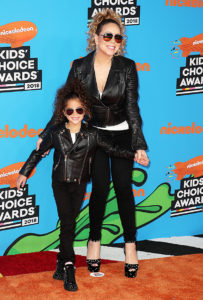 Mariah & Monroe Orange Carpet Kids Choice Awards